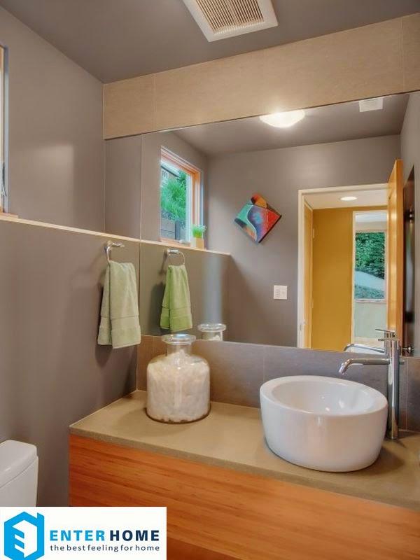 Thiết kế thi công nội thất phòng tắm nhà vệ sinh 4