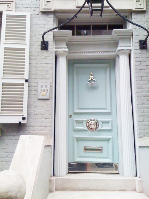 The Modern Sophisticate Front Door Paint Color Inspirations