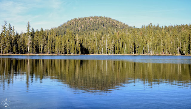 Summit Lake, Lassen Volcanic National Park, California, USA