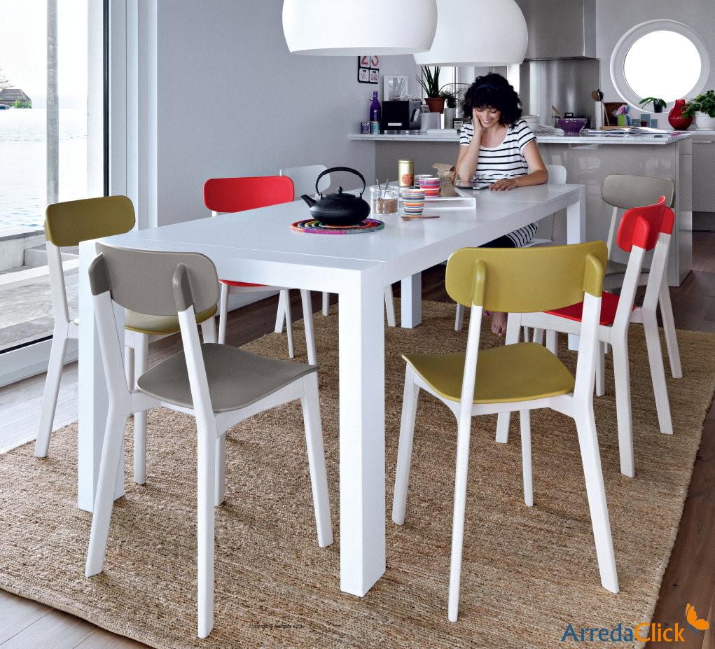 Arredaclick mobilier italien comment les chaises se - Sedia cream calligaris ...