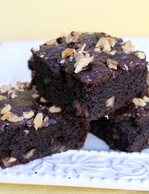 Delightfully Free: Black Bean Brownies