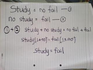 lawak matematik,jawapan kelakar