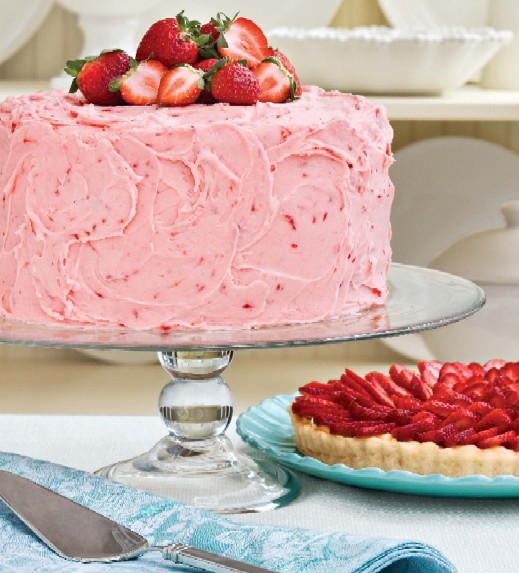 Strawberry Layer Cake Recipe Using All Purpose Flour