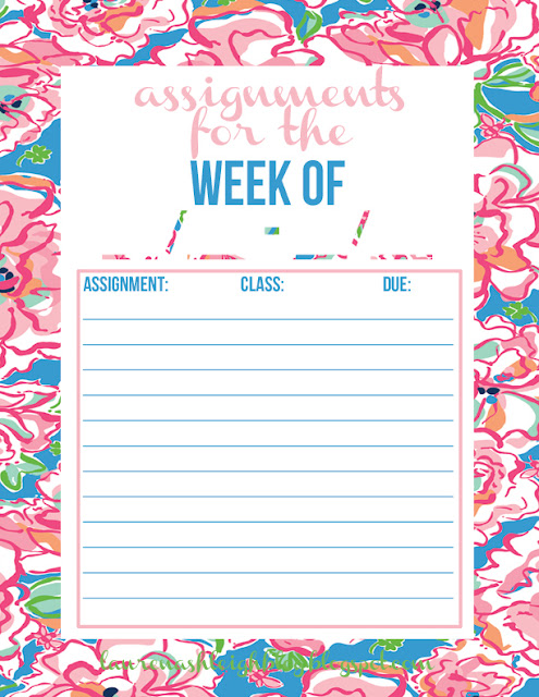 assignment tracker