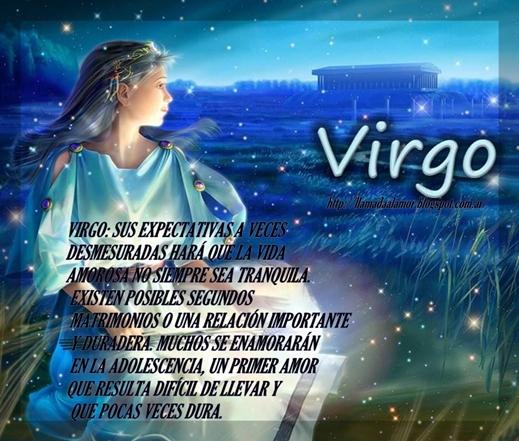 el amor de virgo: