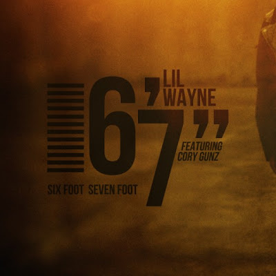 lil wayne 6 foot 7 foot album cover. lil wayne 6 foot 7 foot album