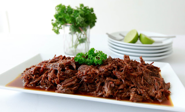 loveurbelly Pressure Cooker Honey Shredded Beef