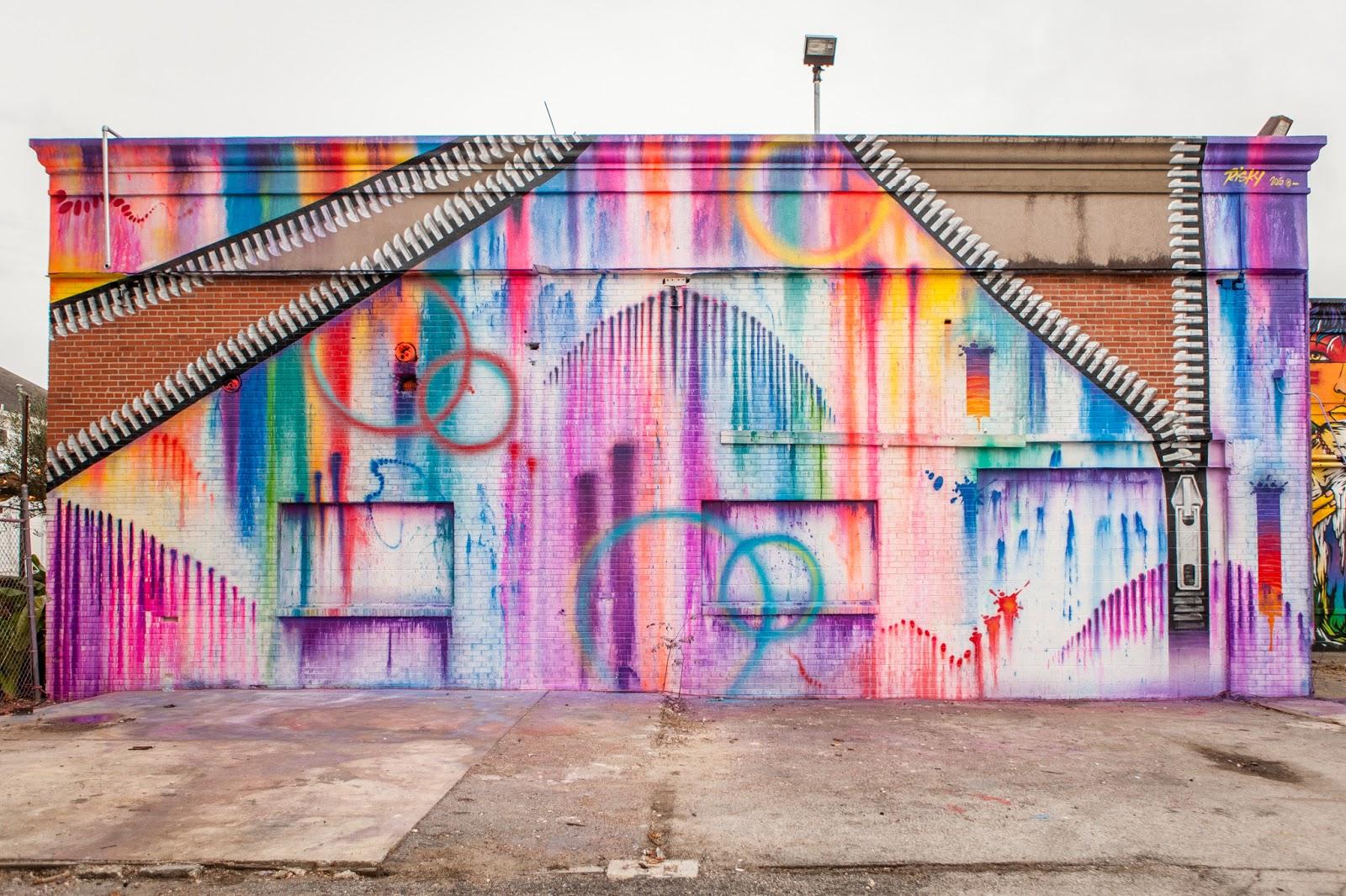 Coverage hue mural festival in houston texas for Mural festival