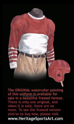 1930 Chicago Cardinals uniform