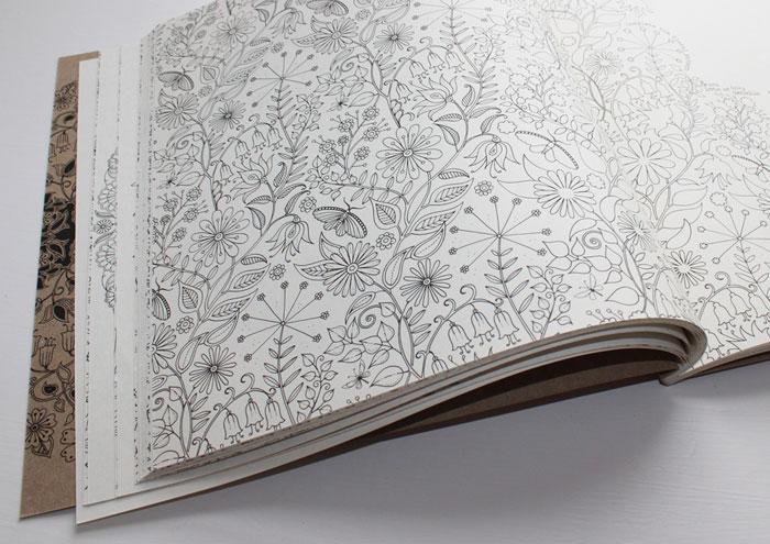 relax, relajate coloreando, secret garden, colores, libro colorear