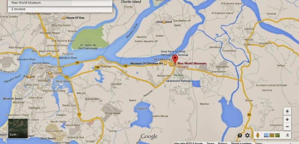 Detalle de cera museo mundial de goa india mapa de ubicacin mapas wax world museum goa india location maplocation map of wax world museum goa india gumiabroncs Images