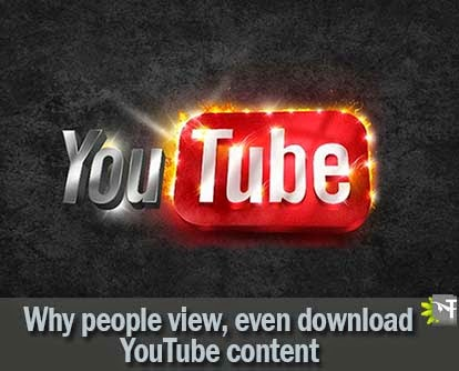 YouTube - Why People download cntent from youtube