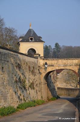Auvers sur Oise - retour du château