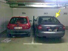 Schräg-Parkierern drohen saftige Bussen