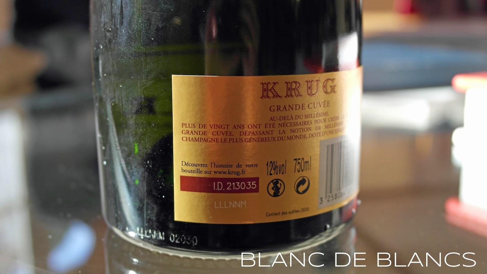 Krug Grande Cuvée ID - www.blancdeblancs.fi