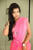 Bhavya Sri Photos in Pink Halfsaree-thumbnail-12
