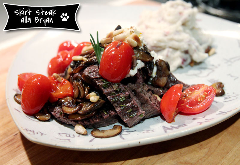 A Most Delicious Skirt Steak Dinner