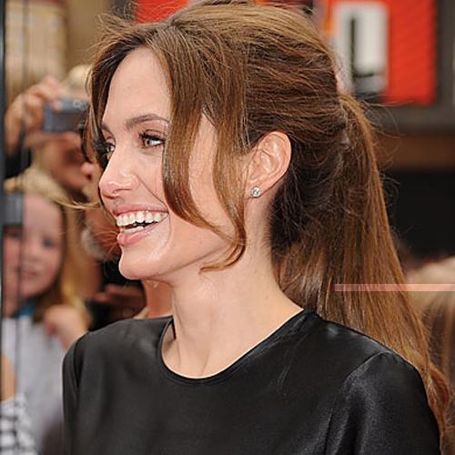 Angelina Jolie - Ponytails