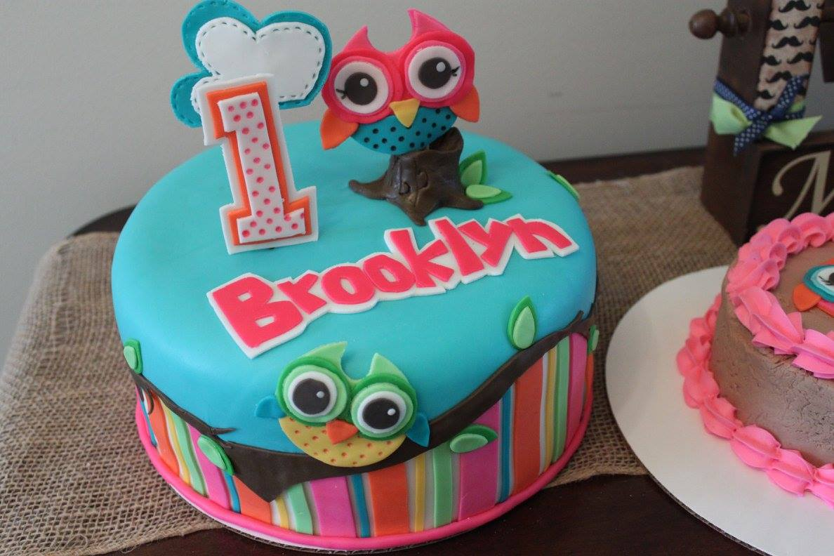 Layers Of Love Owl First Birthday