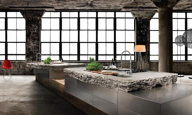 Marzo 2013 cocinas con estilo for Cocina rustica moderna