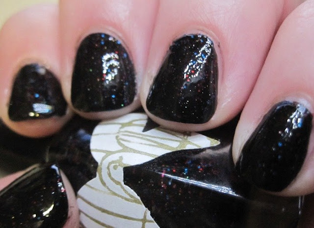 Caged Bird Lacquer Midnight In Paris