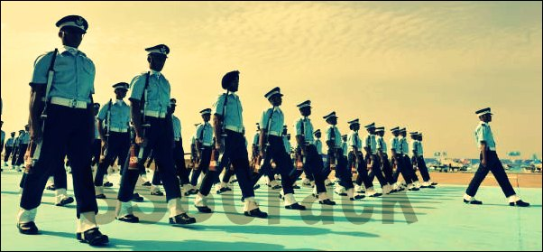 Indian air force passing out parade