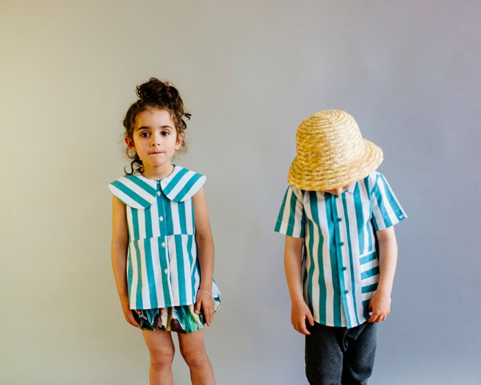 Wolf & Rita Spring-Summer 2015 kids fashion - stripes