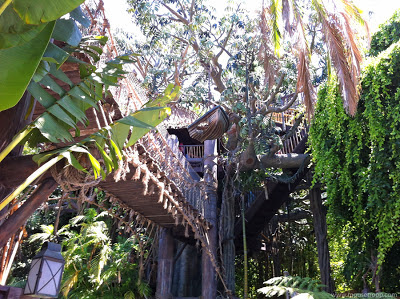 Tarzan's Treehouse Disneyland Adventureland Swiss Family