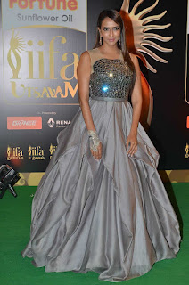 Actress Manchu Lakshmi Pictures Gallery in Long Dress at IIFA Awards 2016 25283