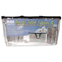 Bead Tube Tower for Flip Top Tube Bead Craft Storage