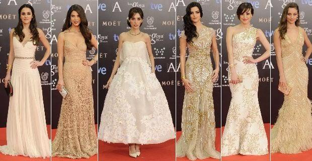 Vestidos de encaje color oro – Vestidos destacados