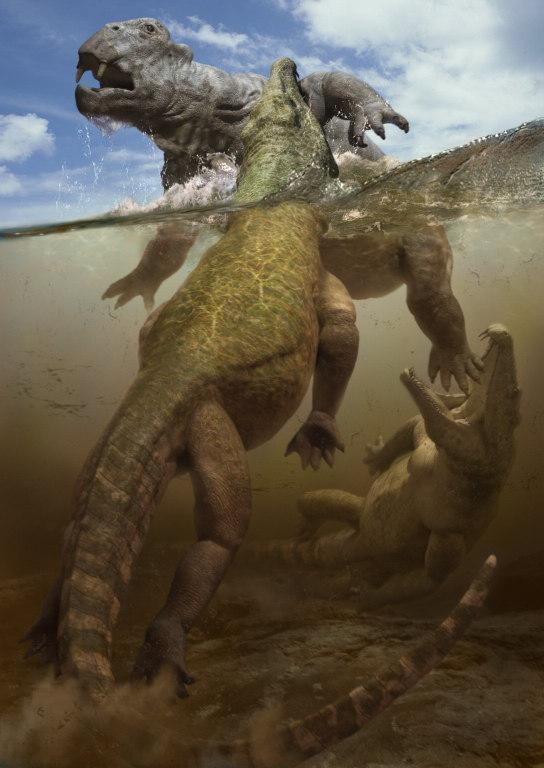 El Pensieve De Dinorider Paleoarte Caminando Con Los