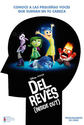 Póster de 'Del Revés (Inside Out)'
