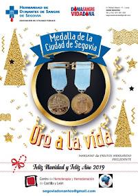 Medalla de la Ciudad de Segovia