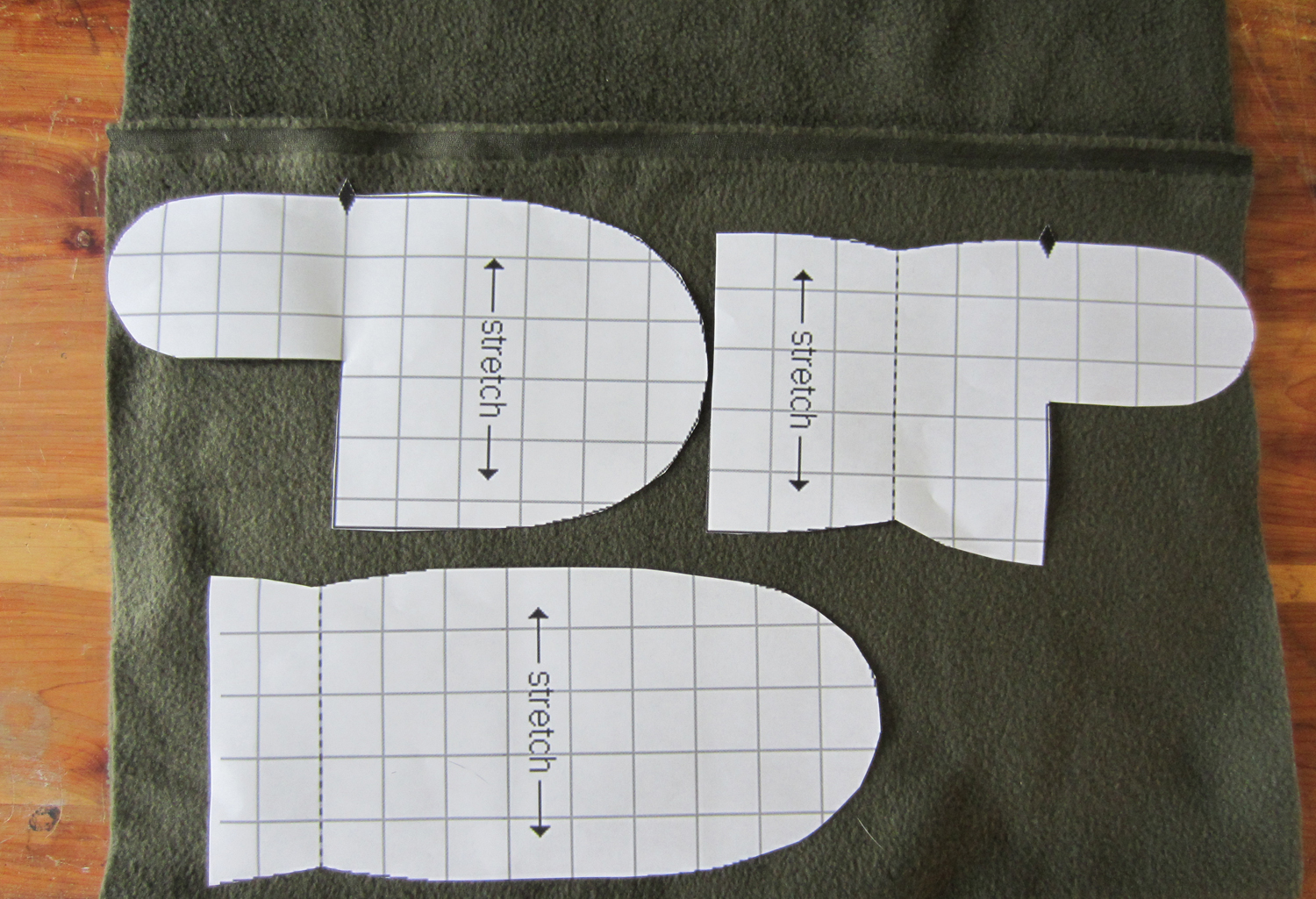 free printable fleece mitten pattern Car Pictures