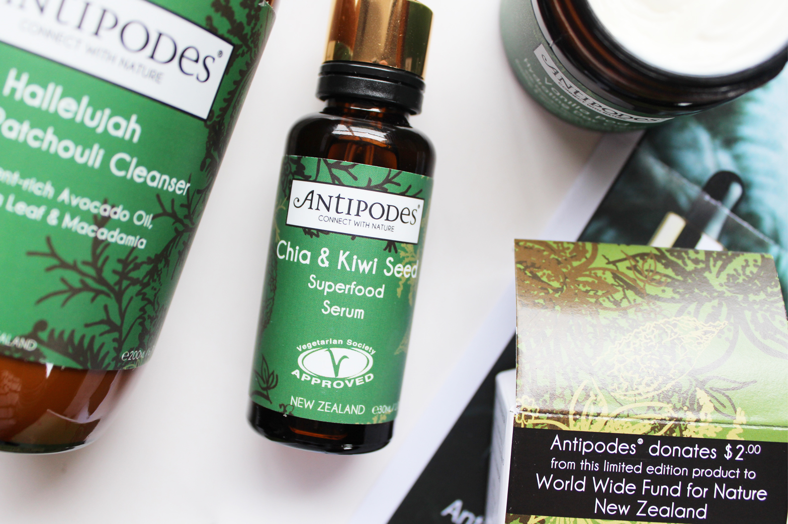 ANTIPODES | Skincare Review Hallelujah Lime & Patchouli Cleanser, Chia & Kiwi Seed Superfood Serum + Vanilla Pod Day Cream - CassandraMyee