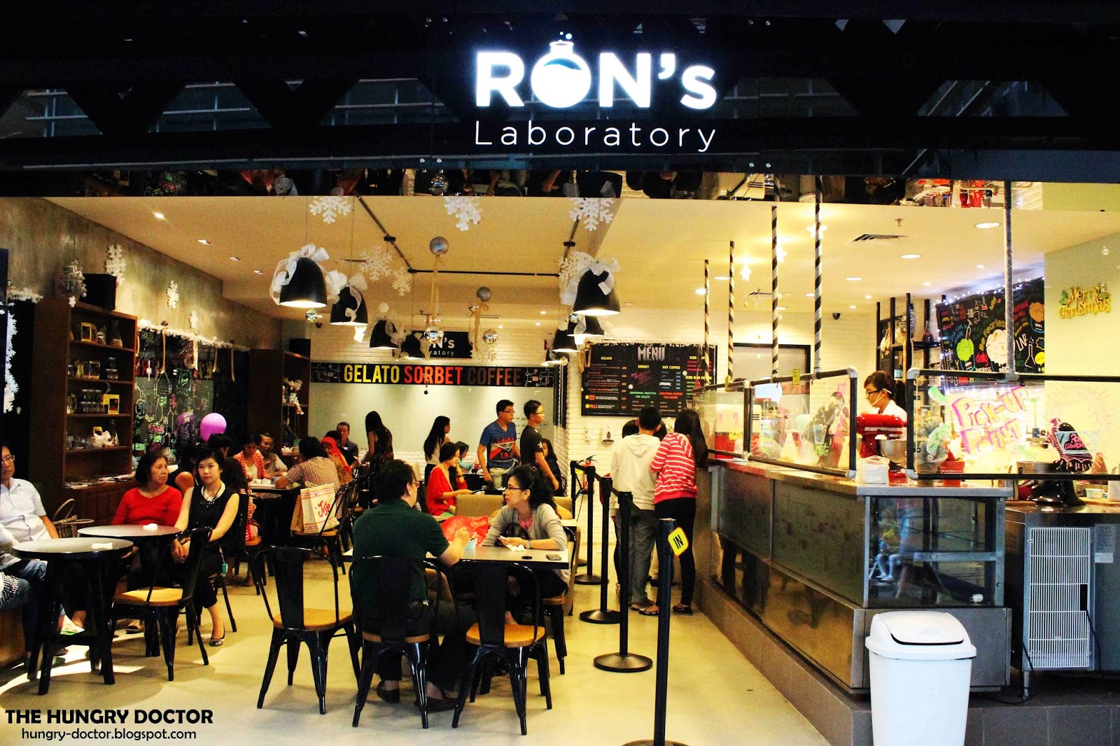 Ron's Laboratory - Another Liquid Nitrogen Ice Cream in Town