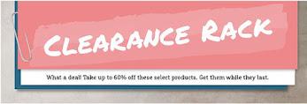 Shop the Clearance Rack!
