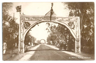 1900s: A Welcome Gate at Mall - Rawalpindi