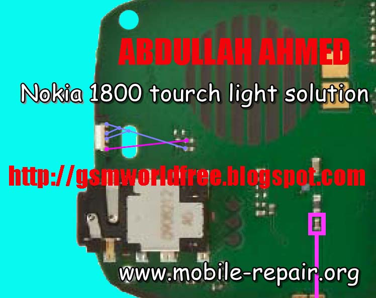 1616 light problem. Nokia 1616/1800 Tourch Light