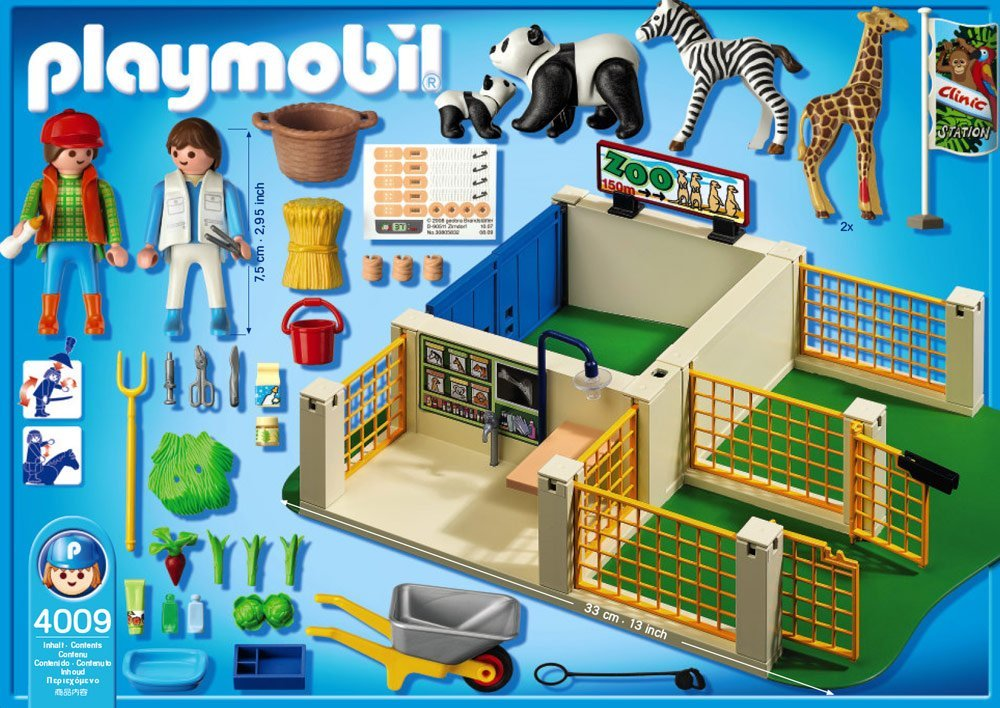 with others from the Playmobil zoo range, like 4013 Penguin Zoo ... Zoo Animals Toys