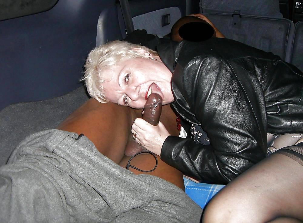 Old woman black dick