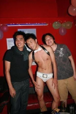 Boy in Udon Thani gay bar