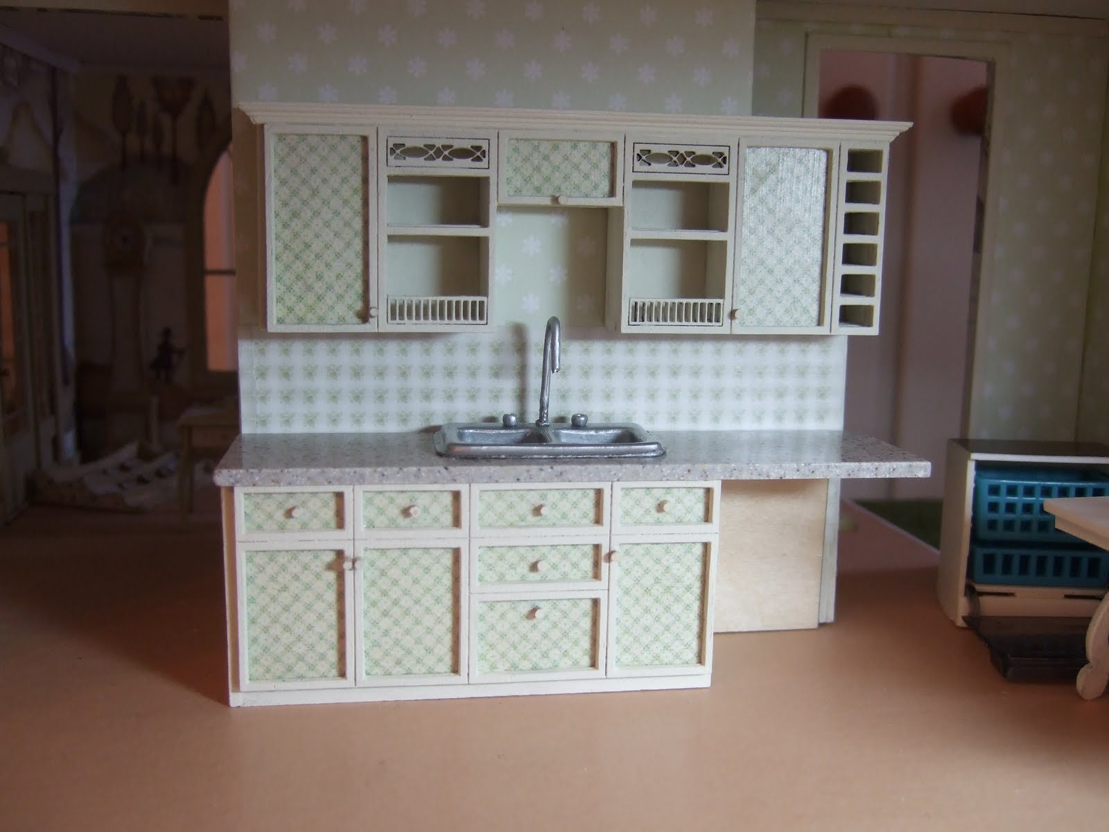 A Greenleaf Fairfield for Miss Lydia Pickett: Cabinets installed
