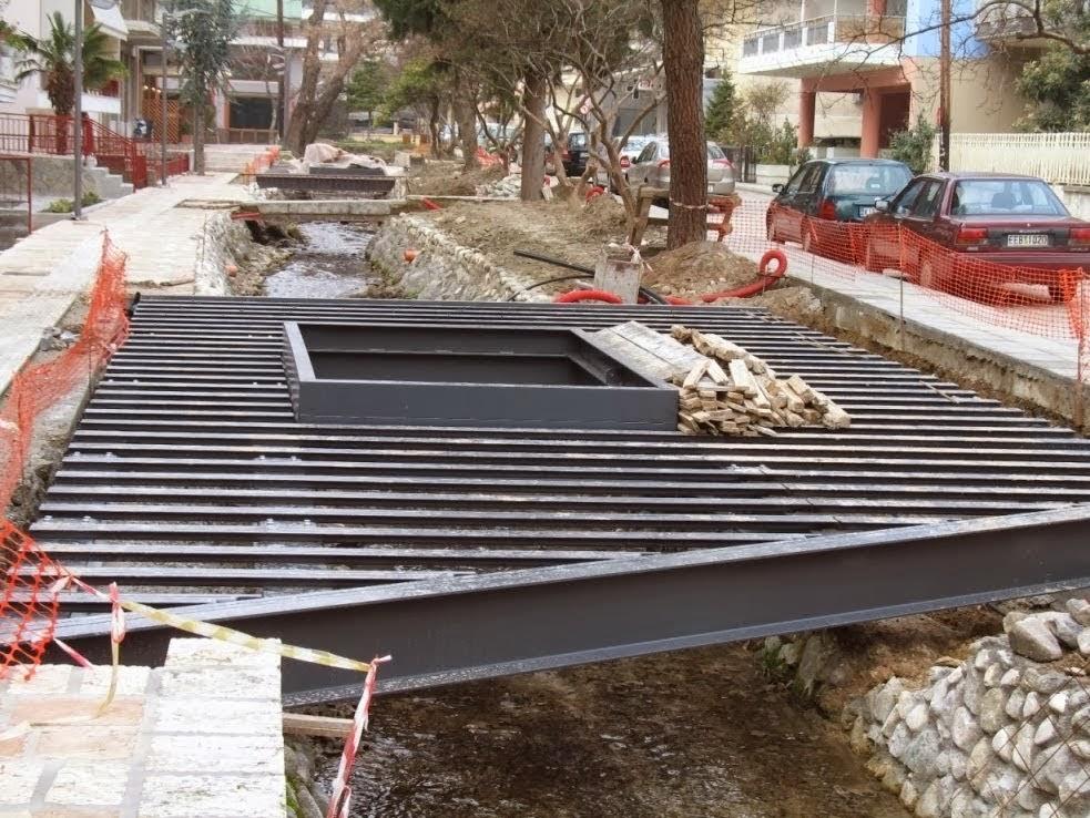 Χτίσαν τα ποτάμια με τσιμέντο