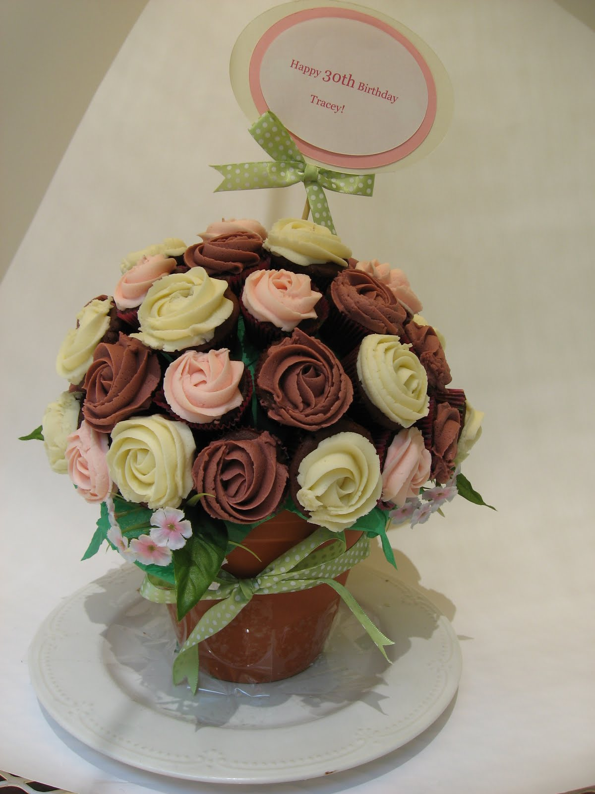 Cupcakes In Bouquet Multy Cuppies Cupcakes
