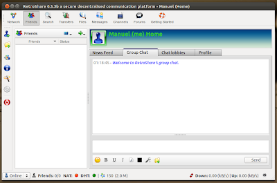 RetroShare Ubuntu PPA