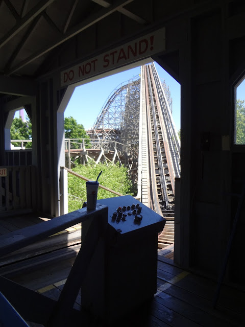 wooden roller coaster Idaho Attraction