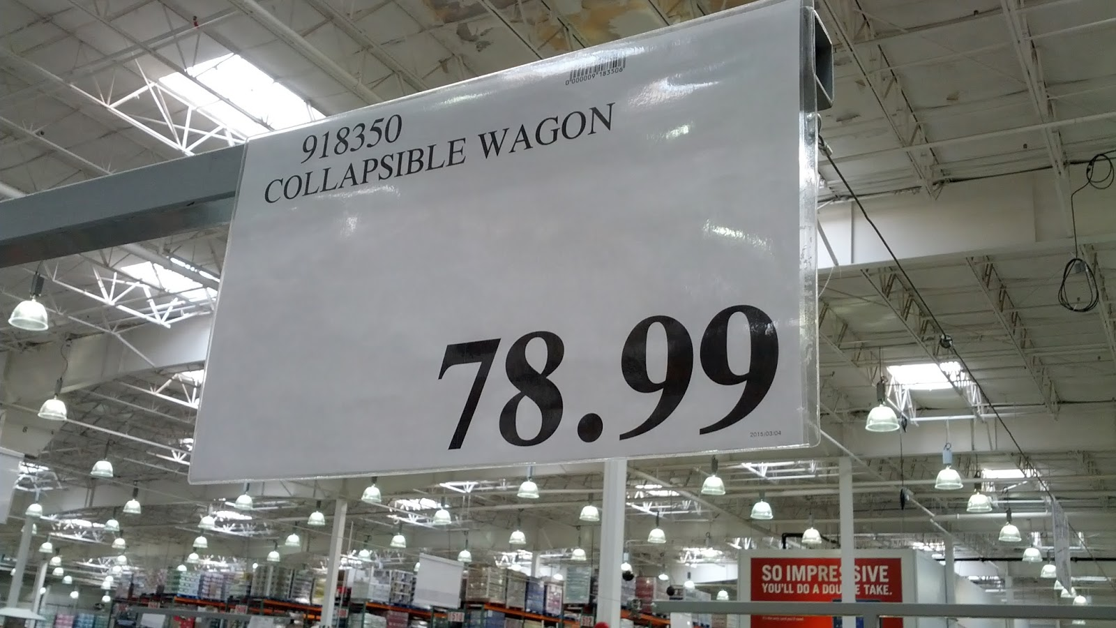 Deal for Foldable Wagon at Costco in Canada
