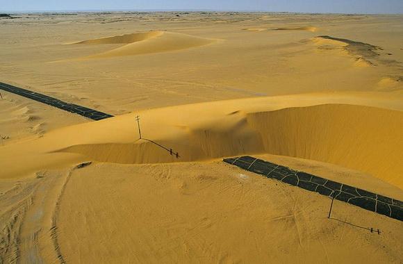 Hermosas e inusuales imágenes del desierto